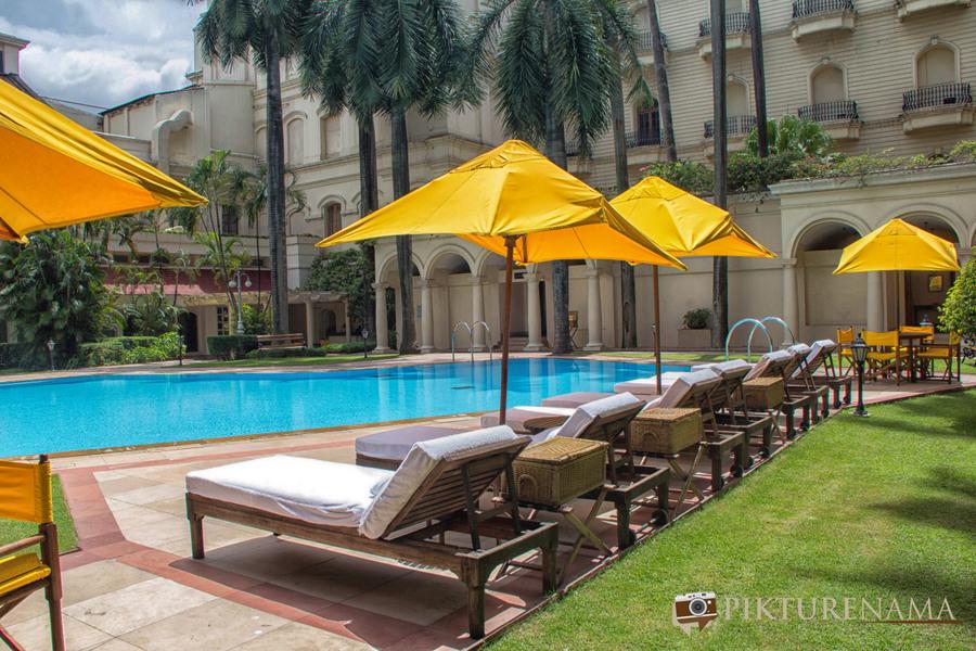 Oberoi Grand Kolkata swimming pool 1