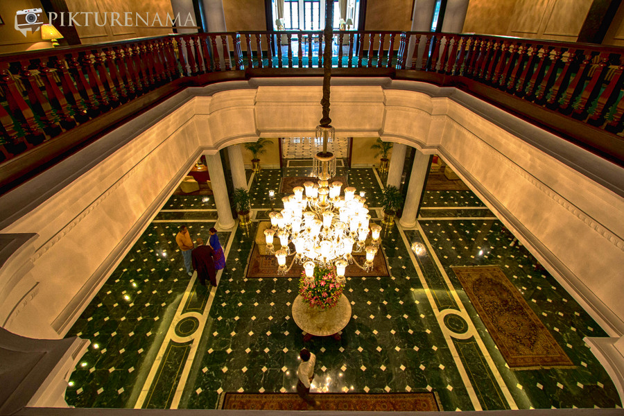 Oberoi Grand Kolkata above the lobby 2