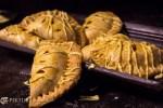 Pumpkin and prawn Hand pie 15