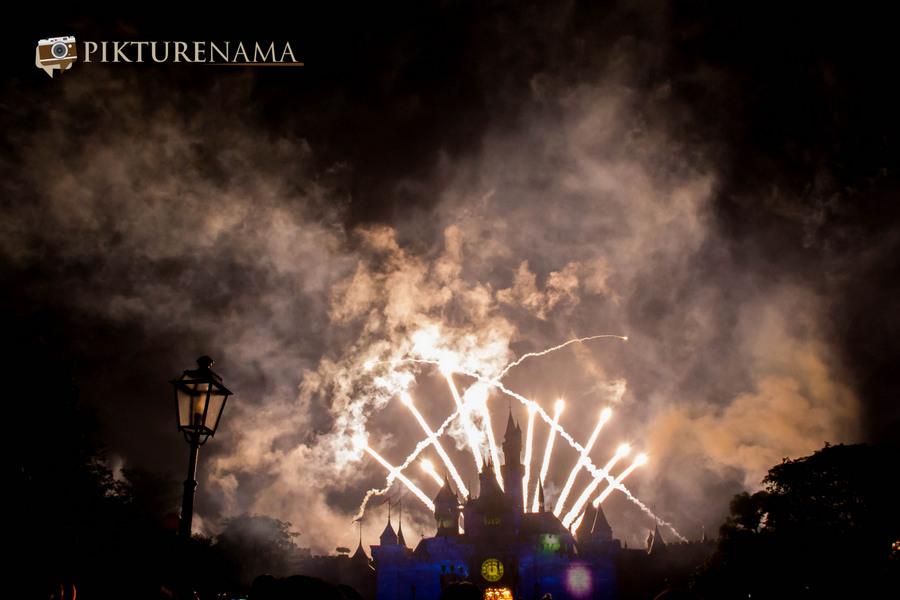 HongKong Disneyland Fireworks 7