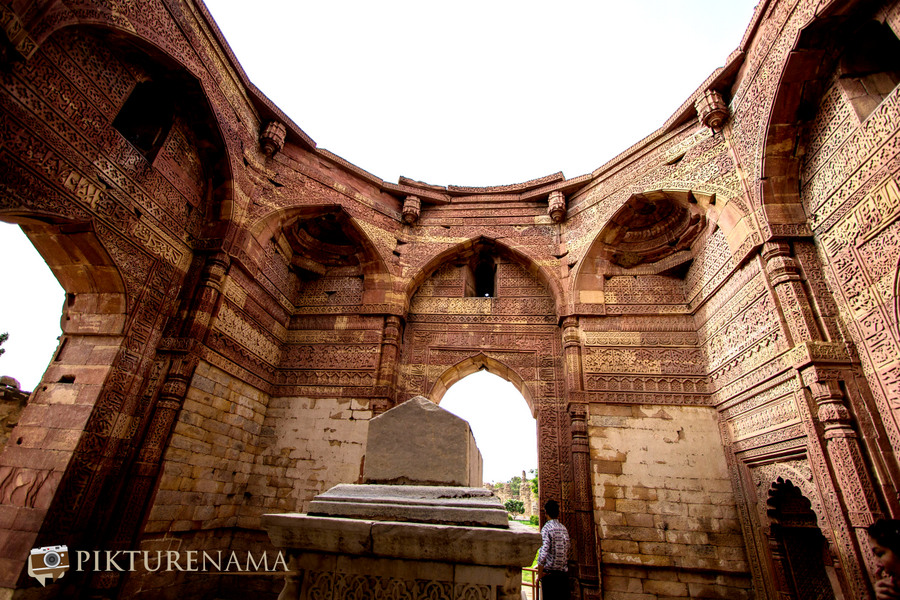 Qutub Minar and Qutub complex Iltutmish tomb
