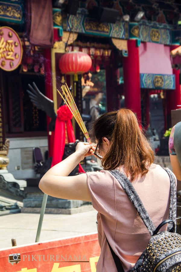 Wong Tai Sin temple HongKong and Man Mo Temple 14