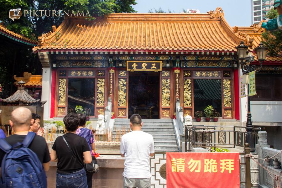Wong Tai Sin temple HongKong and Man Mo Temple 23