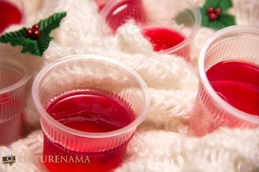 Vodka Jello Shots – No Butts please