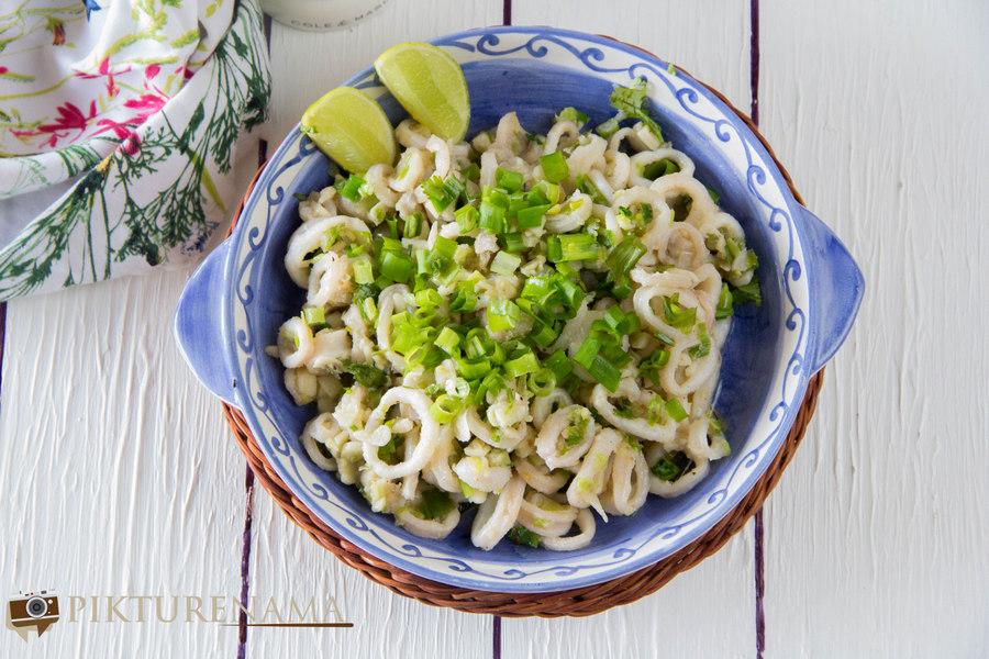 Butter garlic squids 6