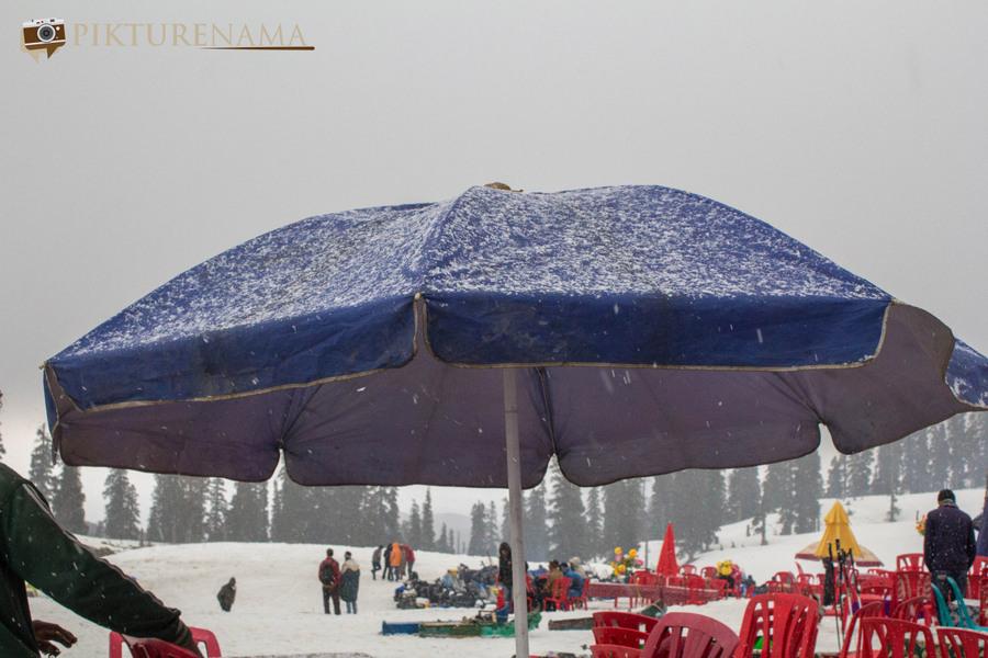 Faces of Kashmir snow storm