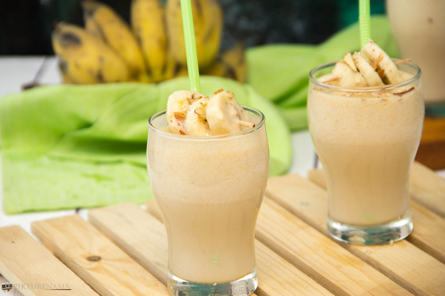 Peanut butter Protein Shake - 6
