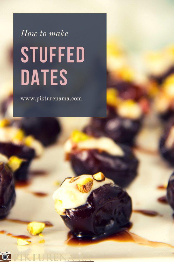 Stuffed dates pinterest - 1