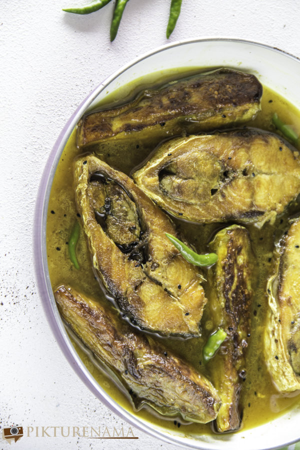 Ilish Begun Jhol - 3