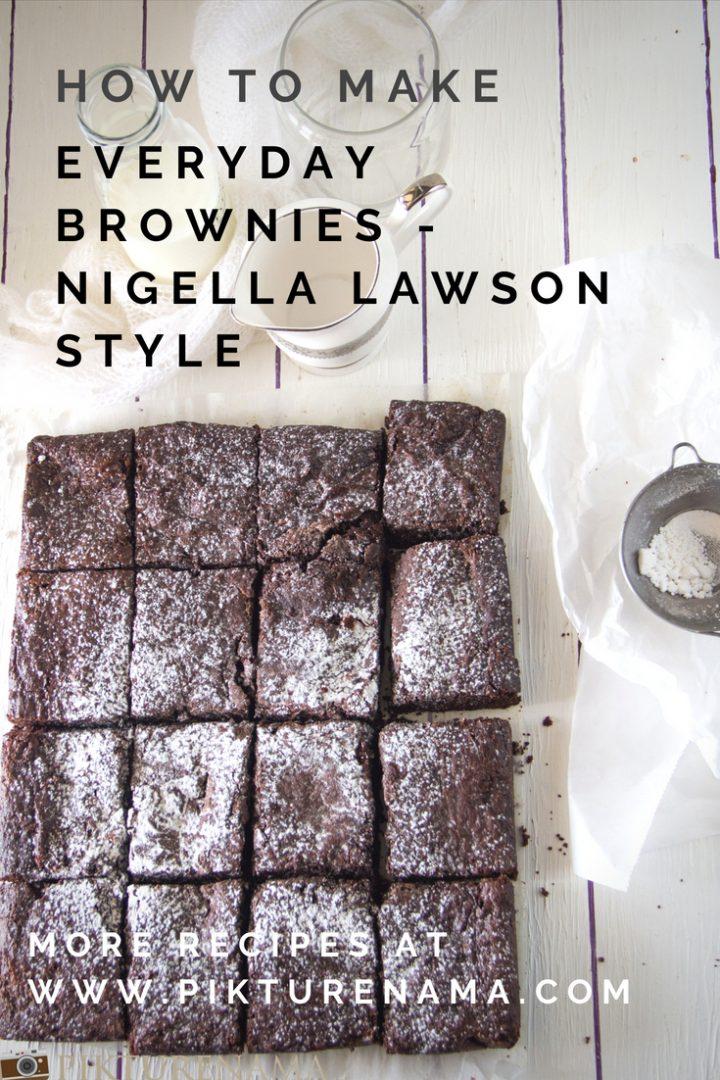 Everyday Brownies by Nigella Lawson   pikturenama 1