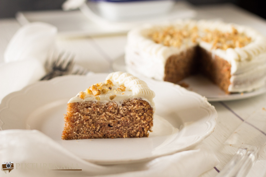 Carrot Cake once again but with new pictures