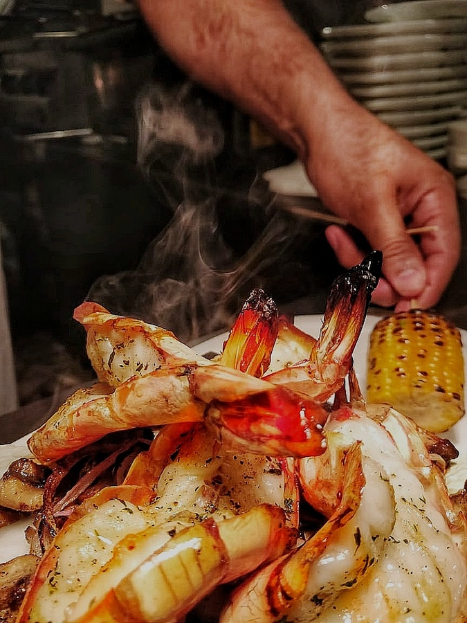 Grill by the poolside at Taj Bengal -2
