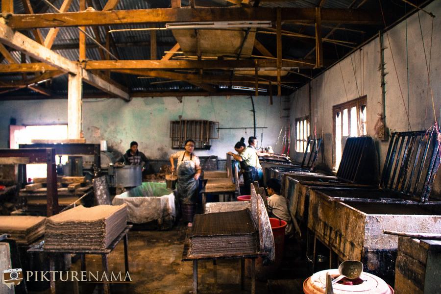 Jungshee Paper factory Thimpu Bhutan - 22