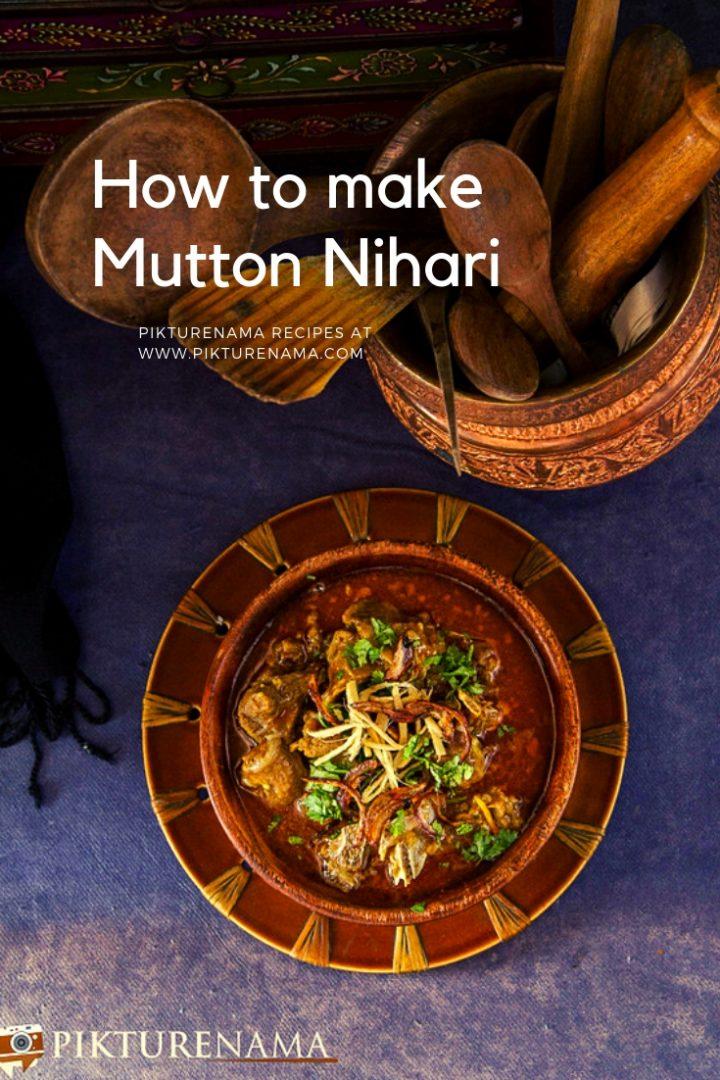 How to make Mutton Nihari Pinterest - 3
