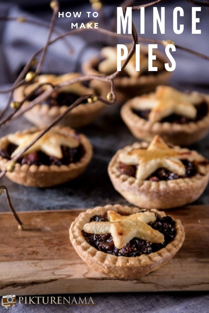 How to make Mince pies Pinterest -1