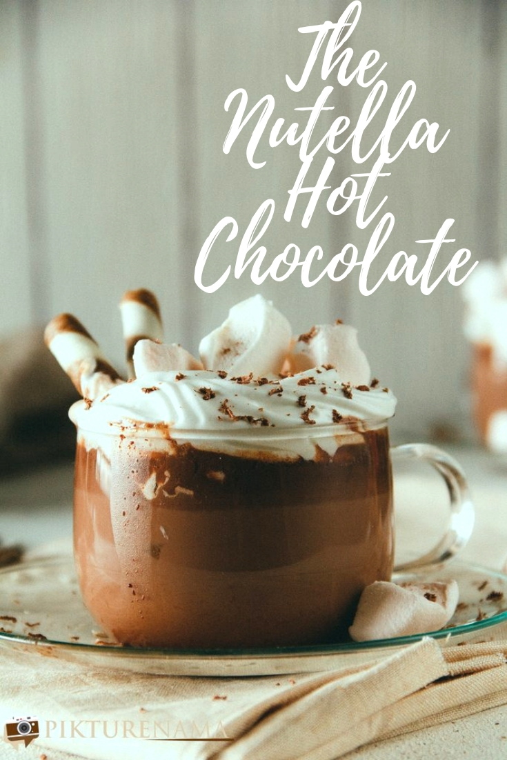 How to make Nutella Hot Chocolate - 2