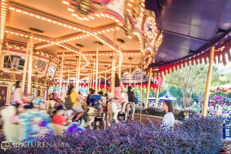 Cinderella Carousel at Hong Kong Disneyland - 15