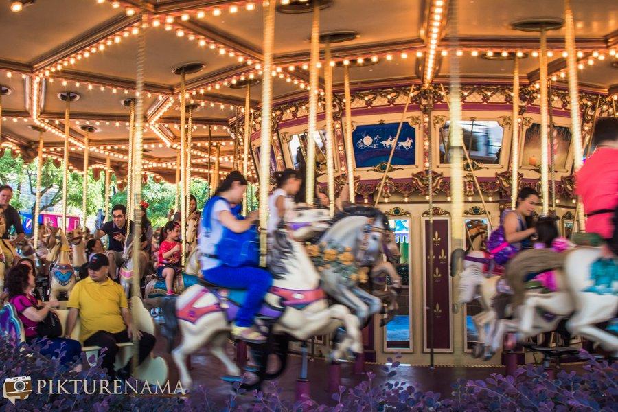 Cinderella Carousel at Hong Kong Disneyland - 9