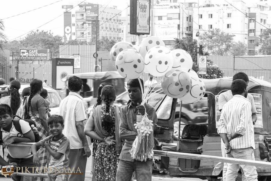 shilparamam Hyderabad the roadside vendors