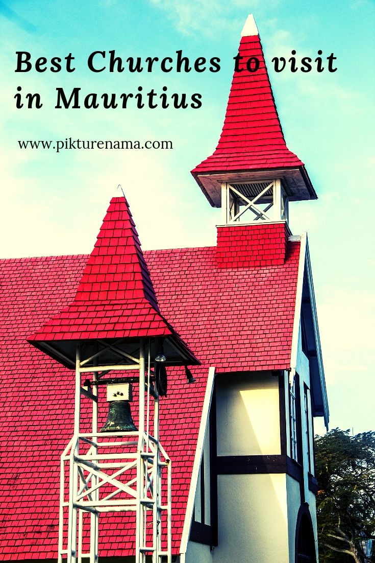 Churches of Mauritius for pinterest - 1