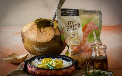 Daab Chingri with ITC Masterchef frozen prawns – The journey of Chingri machh in my family