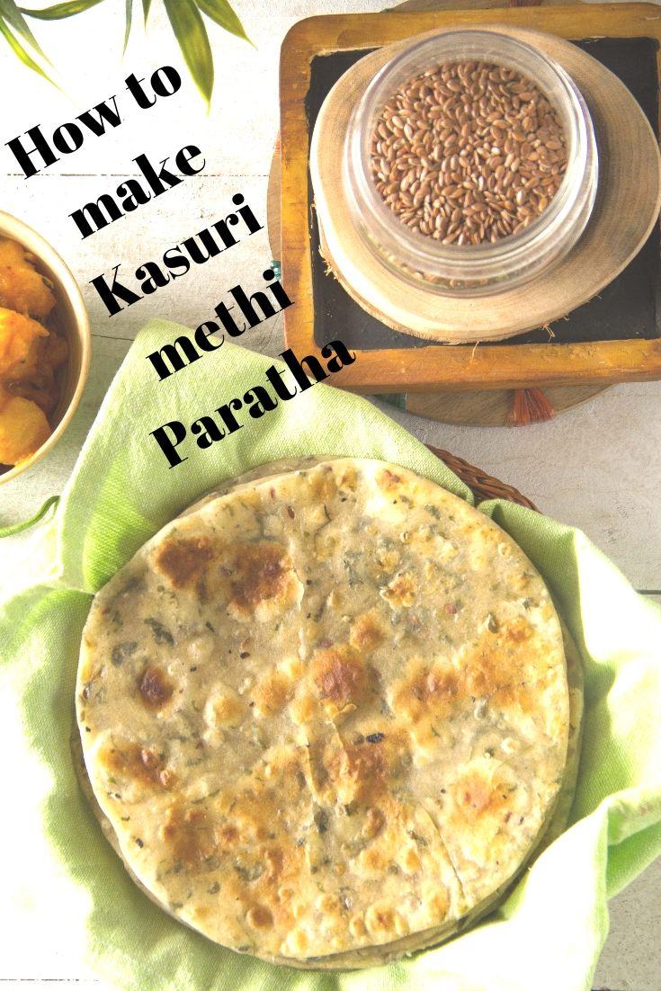 Kasuri methi Paratha pint - 2