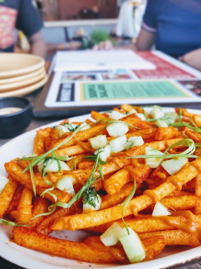 Monkey Bar Kolkata New Menu Nimbu Masala Fries