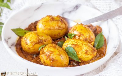 Kerala Egg Roast / Nadan Mutta Roast when memories start pouring in