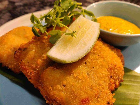 Bandel cheese fish fry