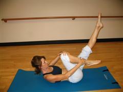 pilates stretch exercise imag