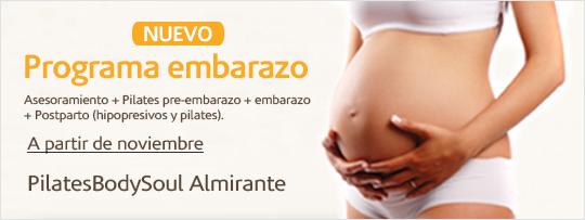 Pilates para embarazadas