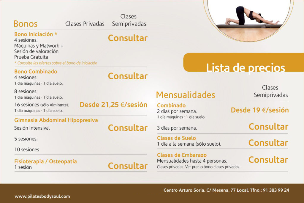 Pilates en Madrid