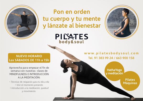 Clases de Hatha Yoga, relajación y mindfulness.