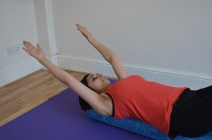 Pilates with Priya: Shoulder Roller Release 5