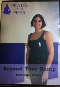 "Postnatal Pilates DVD ""Beyond your bump"""