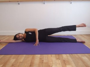 Pilates with Priya: Glut strengtheners, side leg lift