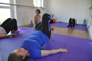 Pilates with Priya: Class in action