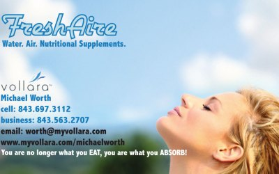 Fresh Aire / Vollara Business Card Design