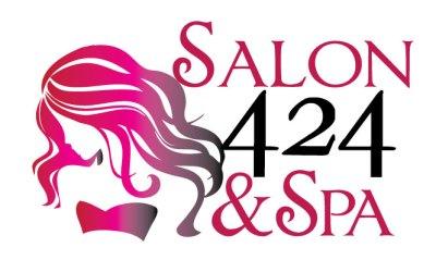 New Logo Design for Salon 424 and Spa