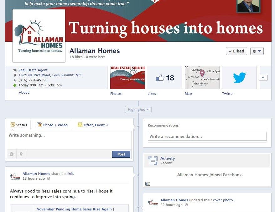 New Social Media for Allaman Homes