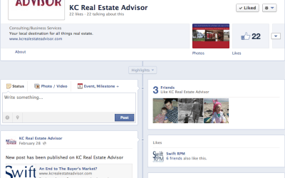 New Social Media for KCRealEstateAdvisor.com