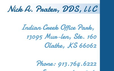 New Business Cards for Pediatric & Laser Dentistry