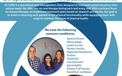 New Flyer Design for Dr. Lindsay Gallion of KC Core