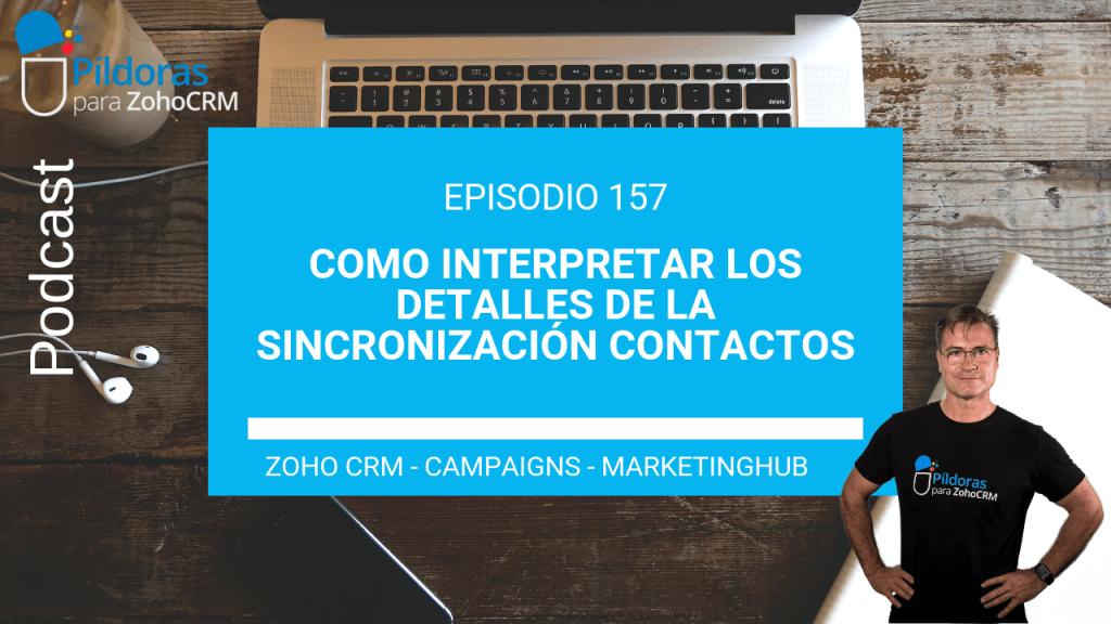 157# Interpretar datos sincronización zoho campaigns y marketinghub