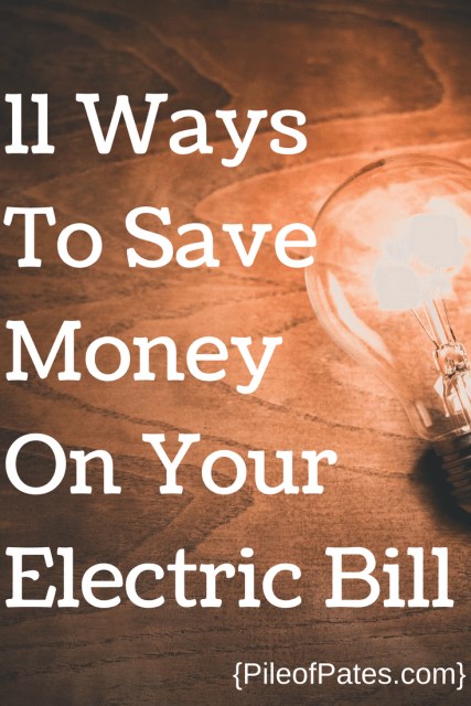 Get Your Electric Bill Savings Game On Point Pile Of Pates