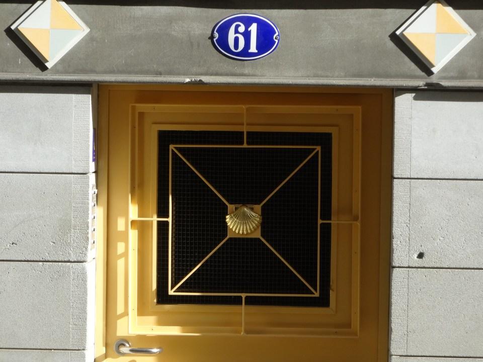 Pilgerherberge Sankt Gallen Eingang