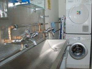 Waschraum Pilgerherberge