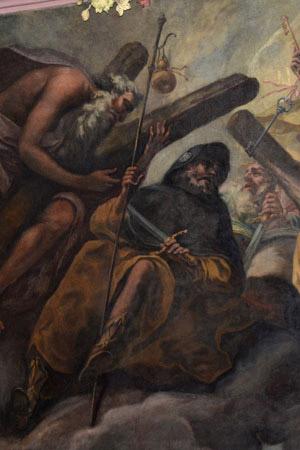 Jakobus im Chorbereich