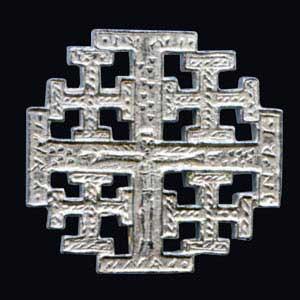 Pilgerzeichen Jerusalem