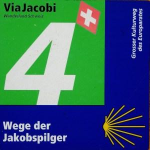 Wegweiser Jakobsweg Schweiz